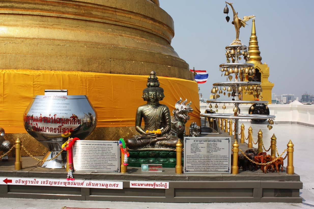 Thailand - Bangkok - Am Golden Mount